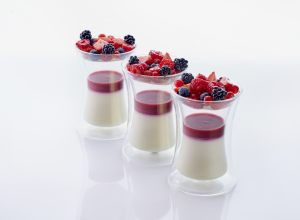 recette de panacotta fruits rouges par Jimmy Mornet