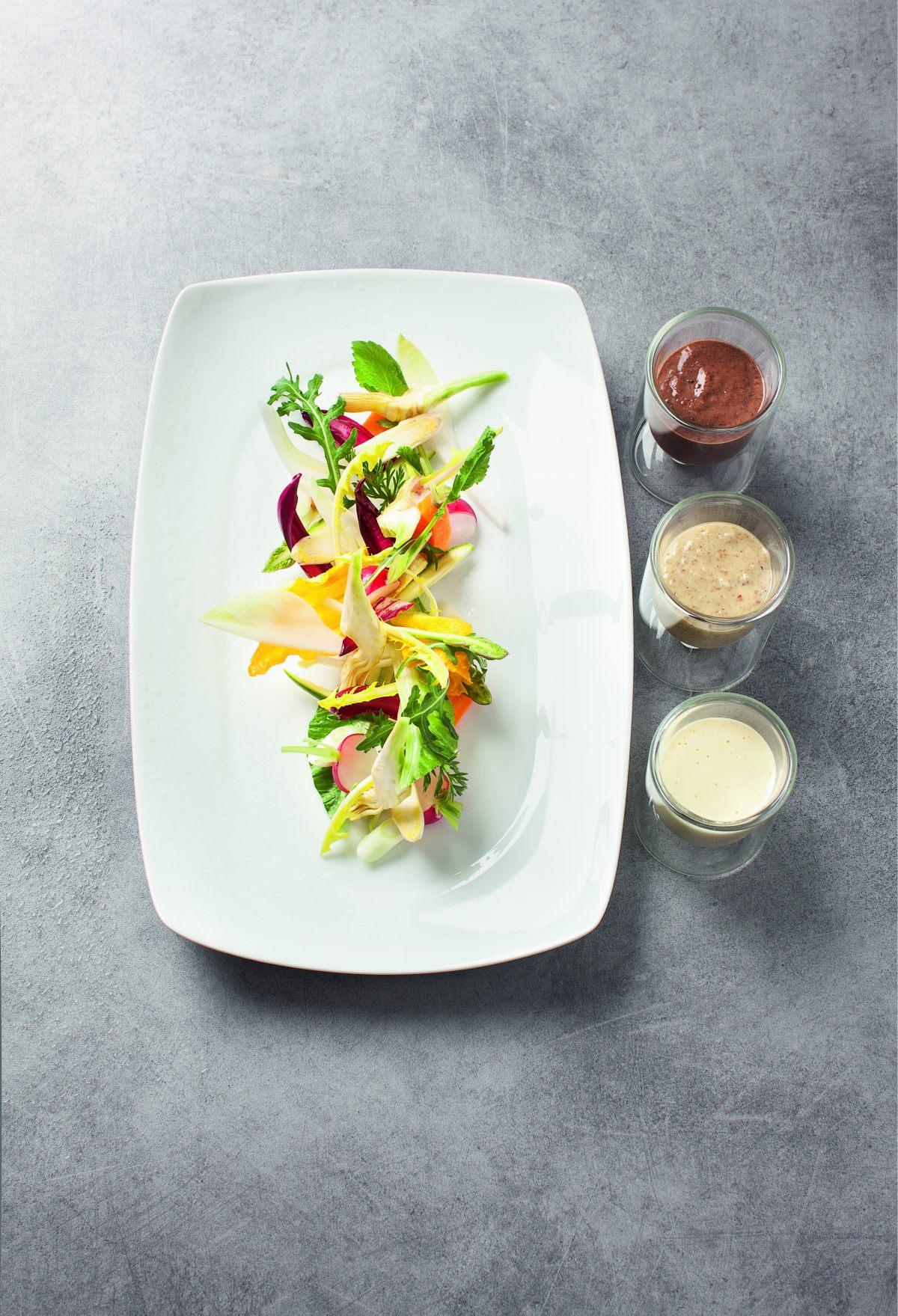 Crudit s condiments par l 39 cole de cuisine alain ducasse for Alain ducasse ecole de cuisine