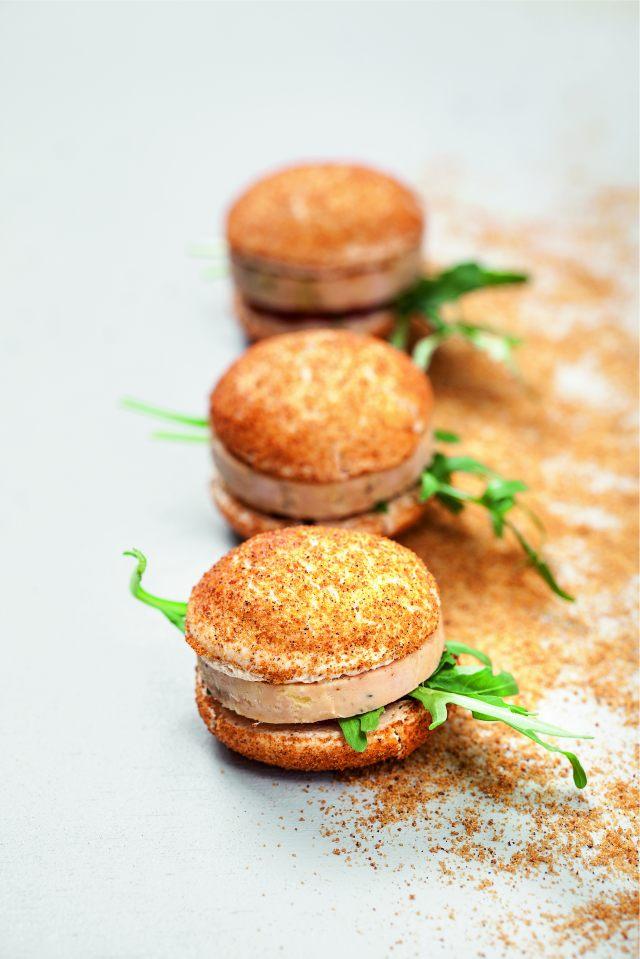 Macarons foie gras figue et pain d pices - Preparation du foie gras ...
