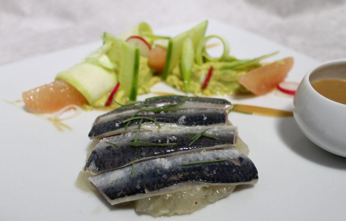 Recette de sardines en escab che au go t d origan avocat - Offrir un cours de cuisine avec cyril lignac ...