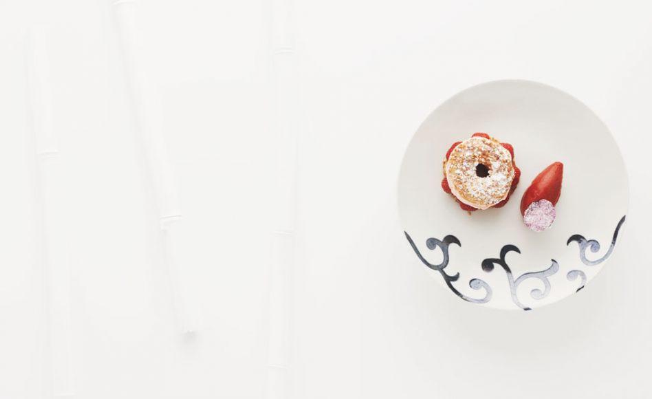 Paris-tokyo aux fraises et à la rose par Alain Ducasse